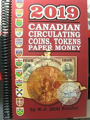 Catalogue Canadian Coins Paper Money Breton Tokens 2019 W.J. (Bill) Stanley book
