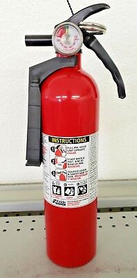 2.5lb Fire Extinguisher ABC Dry Chemical - Kidde - Disposable - 1A10BC