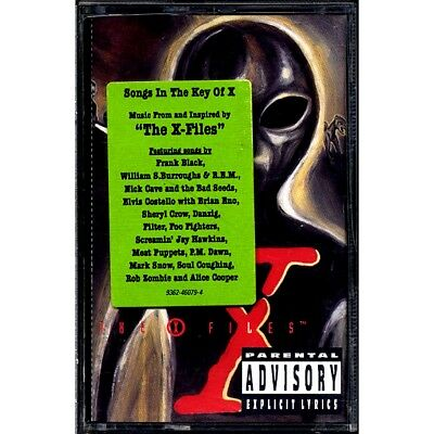 SEALED NEW TAPE Foo Fighters, Sheryl Crow, Rob Zombie, Nick Cave, Etc. - Songs I