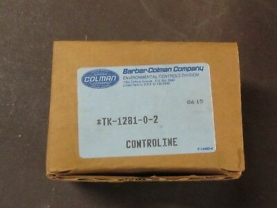 TP209-0-0-1 BARBER-COLEMAN ELECT BULB THERMOSTAT SWITCH NEW OLD STOCK