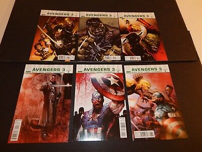 Ultimate Avengers 3 #1-6  Complete Set.  NM   1 2 3 4 5 6     2010