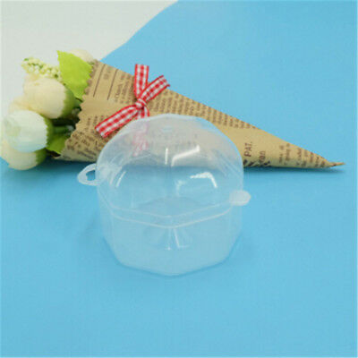 2pc Portable Baby Infant Pacifier Nipple Cradle Case Holder Storage Box Clear LR