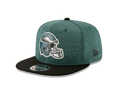 NFL PHILADELPHIA EAGLES New Era 9Fifty 2016 On Field SnapBack Green ... 3c051904e