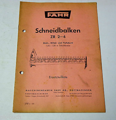 Parts Catalog Drive Schneidbalken Zr 2-4 High Medium And Jigsaw Blades Downcut Agriculture/farming