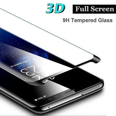 For Samsung Galaxy Note9 3D Curved Full Coverage Tempered Glass Screen Protector