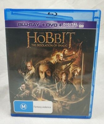 Hobbit Desolation of Smaug (Blu Ray, Region B)