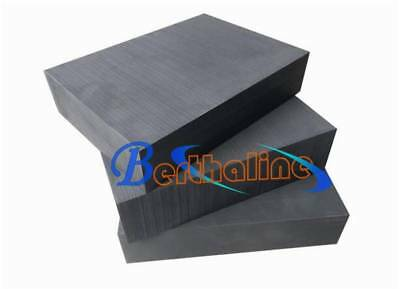 "New 1PC High Density Graphite Ingot Blank Block Sheet Plate 1/2"" X 4"" X 4"""