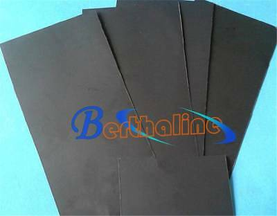 New 1pcs 99.99% Pure Graphite Electrode Rectangle Plate Sheet 150*50*4mm