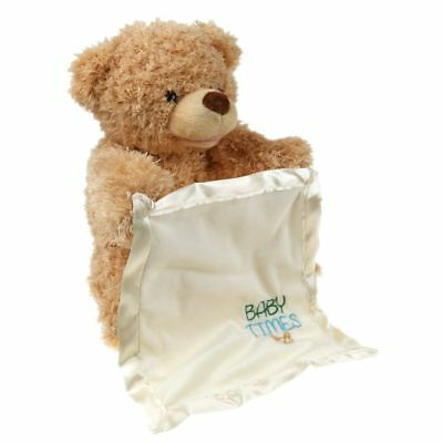 Peek A Boo Teddy Bear Toddler Kids Children Child Play Soft Toy Plush Blanket