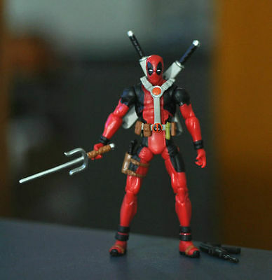 "X MEN Universe Super Heros Marvel Deadpool 3/4 3.75"" Loose Auction Figures ZX308"