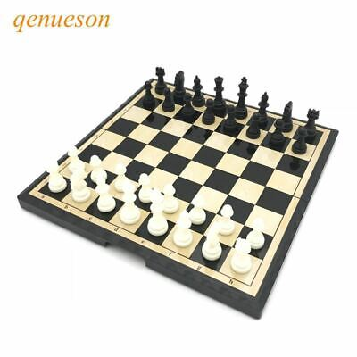 Magnetic Mini Portable Plastic Chess Set Board