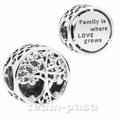 Original Pandora Element 797590 Family Roots Charm Bead 925 Ale Silber Schmuck