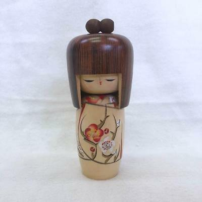Antique Kokeshi Wooden Japanese doll retro popular rare beautiful EMS F/S!
