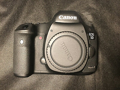 Canon EOS 5D Mark III 22.3MP SLR Camera - 10k Shutter count