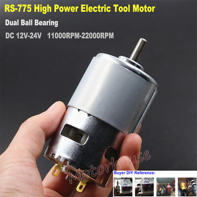 DC 12V 14.4V 18V High Speed Power Electric Drill Saw RS-775 Motor Large Torque
