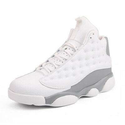 Men's Basketball Shoes High Top Cross Training Shoes Fashion Athletic Sneakers