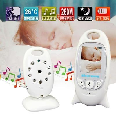 2.4GHz Wireless Digital LCD Color Baby Monitor Camera Night Vision Audio Video #