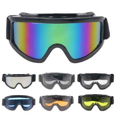 Motorcycle Motorbike Eyewear Goggles Off-Road Motocross Quad Bike Glasses UV400