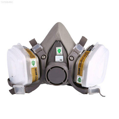 2F0A Outdoor 7-in-1 Half Face 6200 Mask Gas Spraying Anti Fog Respirator Protect