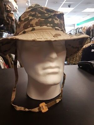 Genuine German Army Desert Tropentarn Bush Hat Boonie Sun Desert MTP DPM Hat