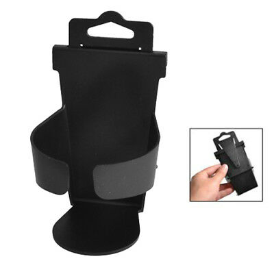 Truck Van Car Vehicle Plastic Beverage Bottle Can Drink Cup Holder Stand Blac QP