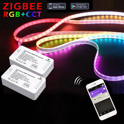 ZIGBEE ZLL LED Controller RGB+CCT RGBW WWCW LED Strip Controller Dimmer Home UK