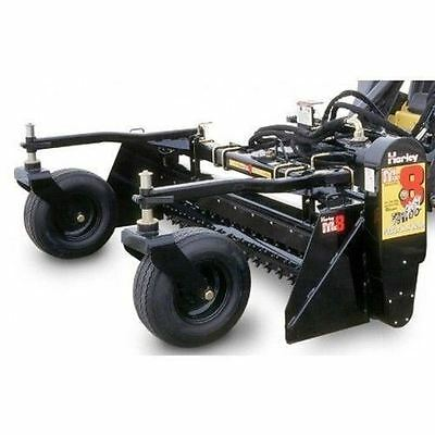 harley power landscape rake 6 tractor 3 point hitch mount