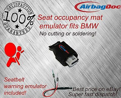 Passenger Seat Occupancy Mat BMW Airbag Sensor Emulator Belt Simulator Bypass UK