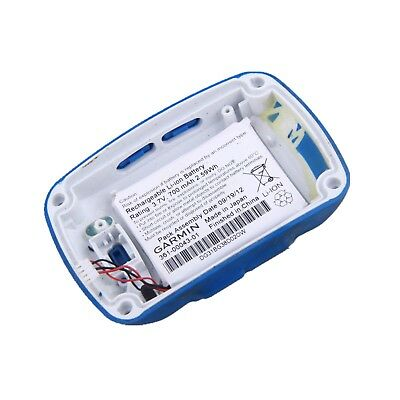 Original Garmin EDGE500 Back Case Bottom Cover with Battery Blue/White