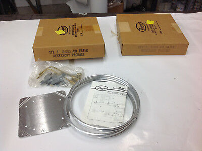 2-Piece Dwyer A-605 Air Filter Accessory Package Kits.  NEW IN BOX