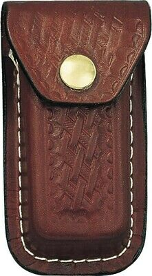 Brown Leather Belt Pouch Sheath For Xl Extra Large Swiss Army Knives SH249