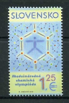 Slovakia 2018 MNH International Chemistry Olympiad 1v Set Chemistry Stamps