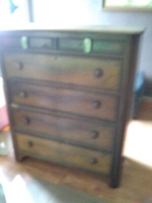 Antique American Chest of Drawers Circa 1800s