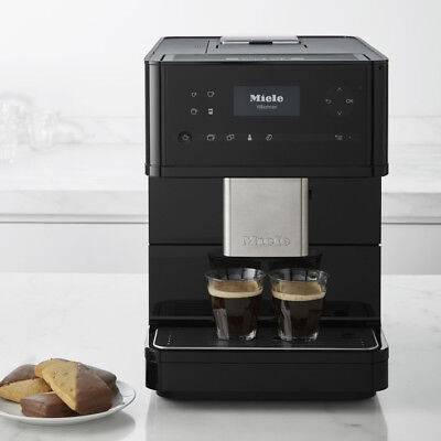 Miele CM6150 Countertop Espresso Machine Obsidian Black