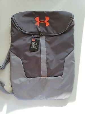 2e60eb8531 UNDER ARMOUR EXPANDABLE Sackpack Graphite NWT -  34.99