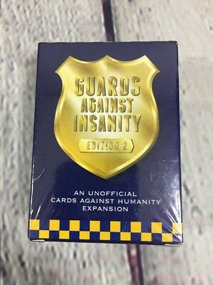Guards Against Insanity Edition 2 An Unofficial Cards Against Humanity Expansion