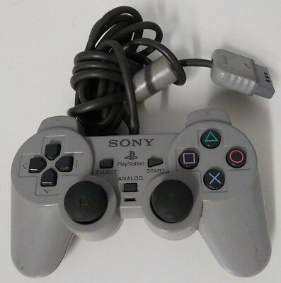 Official OEM Sony PS1 OEM  Controller Grey SCPH-1200 TESTED PlayStation 1
