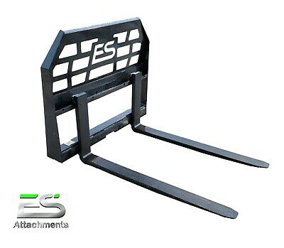 """48"""" Pallet Forks skid steer quick attach, powder coated, FREE SHIPPING,"""
