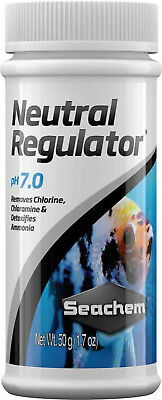 Seachem Neutral Regulator 50 Grs Regulador Agua Bajar Ph 7 Peces Acuario