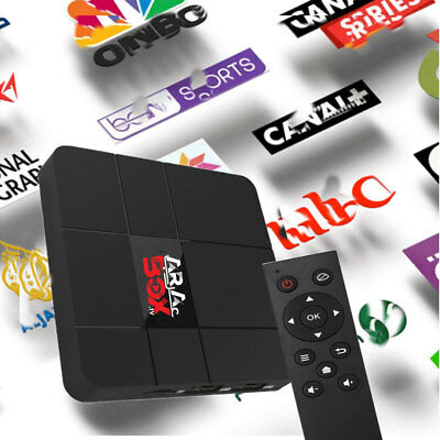 Global HD IPTV TV Box Internet WIFI Receiver Channels English✔Brazilian✔Arabic