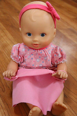 Little Mommy Hide & Peek Baby Doll Fisher Price Peek a Boo Works Interactive