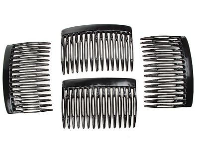 7cm Black Side Hair Combs Clips Slides Hair Accessories Hair Accessories UK