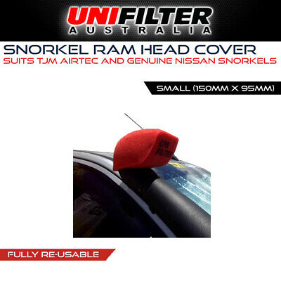 1 X UNIFILTER TJM AIRTEC (150W x 95H) Pre Cleaner Filter Small Tapered Fitment