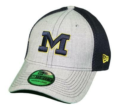 low priced b053c 4ccc7 ... good michigan wolverines new era ncaa 39thirty heathered gray neo 2 flex  fit hat c54a7 e0933