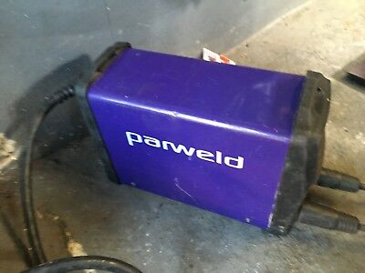 Parweld welder-inverter, model XTI-161DV MMA - in original carry case.