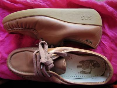 146e7e23889d8f SAS SHOES Siesta Camel Brown Leather Lace Up Oxfords!s 9 M 39!made ...