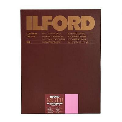 Ilford Multigrade Fb Warmtone 1K Glossy Photo Paper 7x9 3/8in 100 Sheet