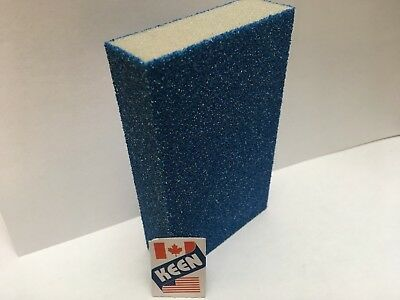 1- Choice of STRIPPING from Grit 60 to 180 Wet dry Sanding Sponge KEEN #82071