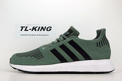 8c848514fb23b ADIDAS SWIFT RUN Cg4115 Cargo Metallic Men s Running Shoes 100 ...