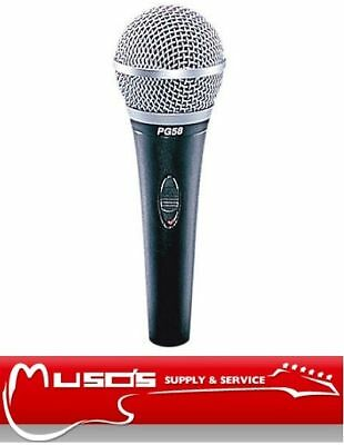 Shure PG58 Vocal Microphone with XLR connector $105
